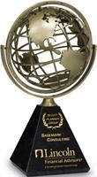 MB05 Spirit Spinning Globe Award