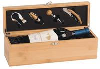 WBX31 - Bamboo Single Wine Box