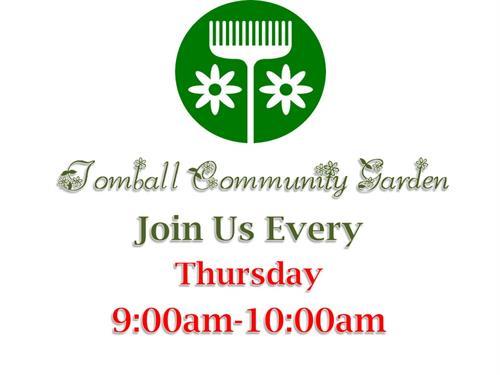 Tomball Community Garden
