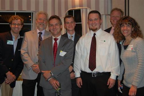 2012 Expo: Jay Mills, James Rayner, CPA, Joseph Wollack, CPA, Michael Schneider, CPA, MST, Brendan Redfield, Staff Accountant, Robert Bradley, Martha Smith