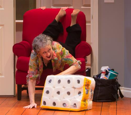 """Karen Sheridan in """"Thing My Mother Taught Me - 2015"""" Photo By Rick Smith"""