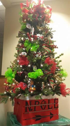 Chief Financial's Road Trip Tree - 2014 Festival of the Trees