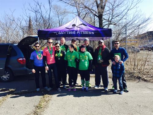 Anytime Fitness of Rochester Representing at Corktown!
