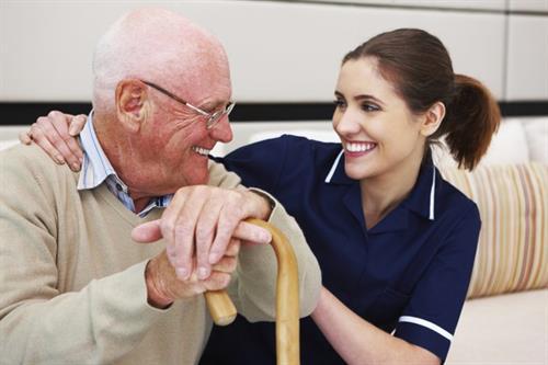 Golden Heart Senior Care staff are Certified Nurse Assistants.