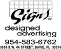 Signs By Designed Advertising
