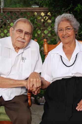 Monico and Manuela Cisneros (2010)