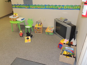 Our kids area