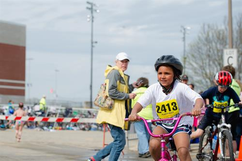 Our last three triathlons have sold out at 500 athletes, proving that swimming, biking, and running are fun for ALL ages!