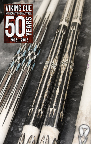 Exotic Inlays on Viking Cues