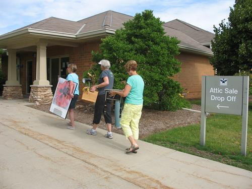 The Attic Sale, one of Attic Angel Association's signature fundraisers, benefits children and seniors in the Madison area.