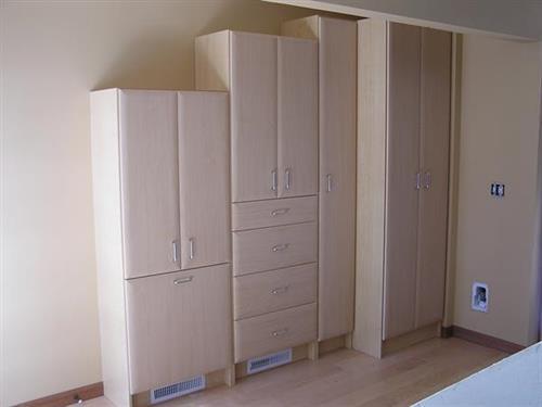 Built-out Closet Storage
