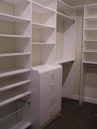 Walk-in Closet in White