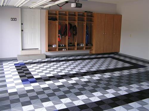 Garage Cabinets and Garage Flooring