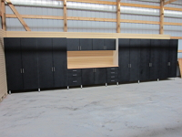 Garage Cabinets and Slat Wall