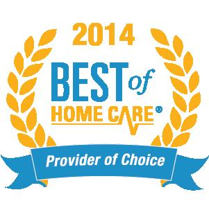 Home Helpers is a Provider of Choice and was voted by Home Care Pulse as having the Best of Home Care in 2014