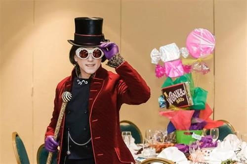 """""""Pure Imagination"""" themed luncheon with Willie Wonka himself"""