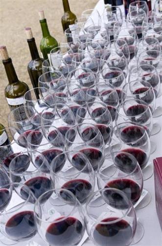 Wine & Food Festival preparation