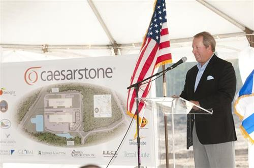 Caesarstone - presentations by state and local government officials