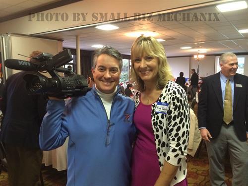 Dave captured Kim Schaefer of Spokane Hope School at the December 2104 Dessert Auction