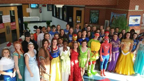 FBLA Princess and Superhero Event