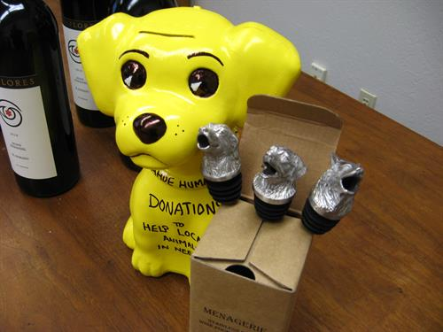 If you see this little yellow dog around town, give him your change. It all goes to Help Local Animals inNeed!
