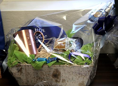 Great Raffle prizes at our events, Thank you local Tahoe Business!