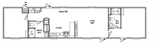 Model 460 House
