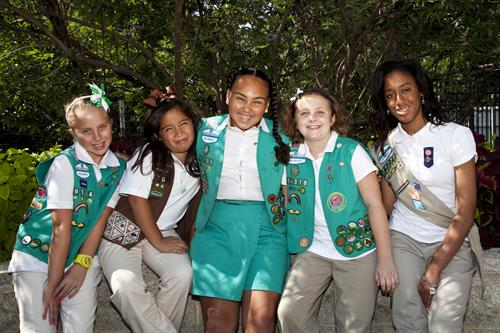 Girl Scout troops travel together with their leaders for activities such as camping, sailing, horseback riding, archery, jewelry making, photography, and many more fun activitites!