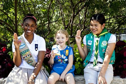 Girl Scouts registers all girls K-12th grades. Join us for a year of fun!