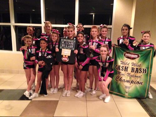 Youth Level 2 Competitive Cheer