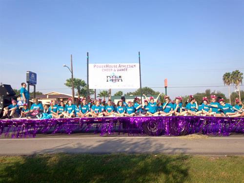 BCFA parade 2015