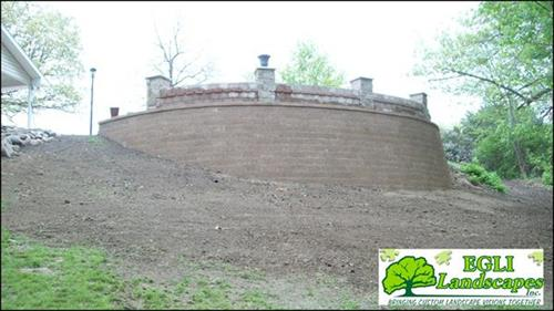 Lamont Patio, Keystone Seatwall & Retaining Wall