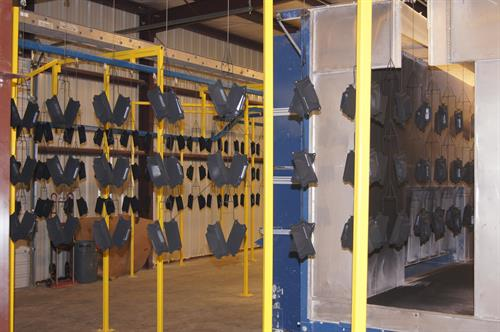 Production Powder Coating