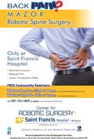 Free Seminar - Robotic Spine Surgery