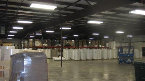 15,000 sq f  warehouse addition