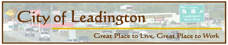 City of Leadington