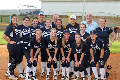 Chapin High School Softball team