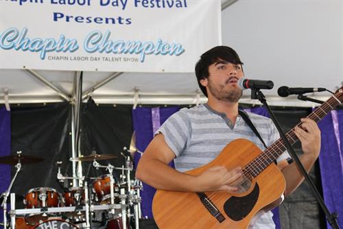 Logan Baldwin, Chapin Champions winner 2014