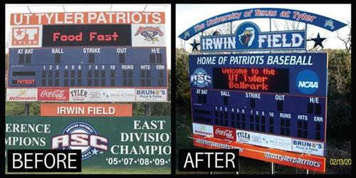 Scoreboard Refurbish Project