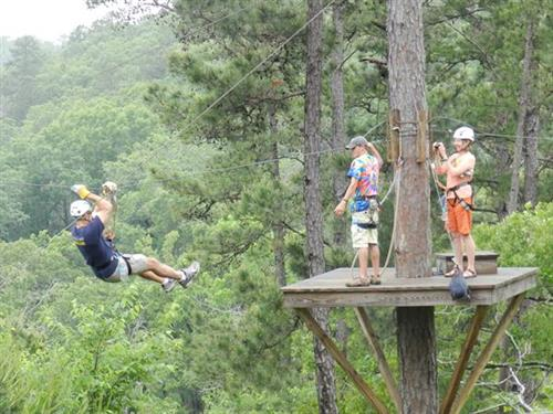 Thrilling FUN - New York, Texas ZipLine Adventures