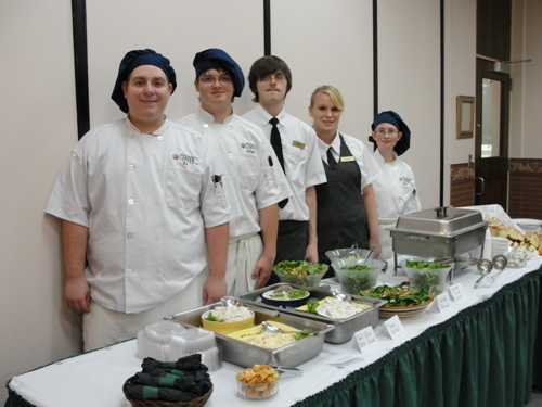Students in Culinary Careers Management operate a restaurant that is open to the public.