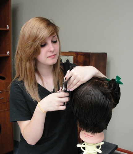 The ACWHCC Cosmetology salon offers services to the public and gives students a change to apply their knowledge.