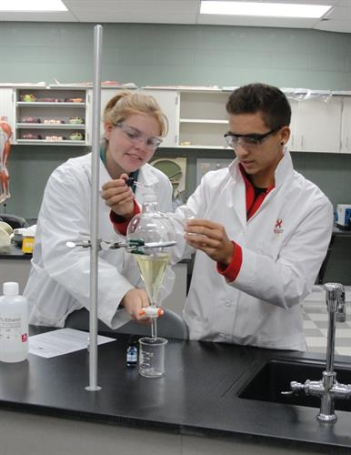 Bioscience College-NOW offers an associate degree along with a high school diploma.