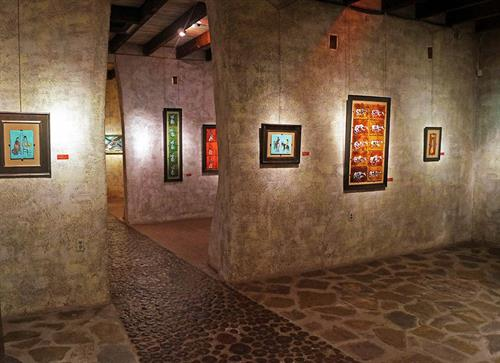 Gallery in the Sun's rotating exhibits.