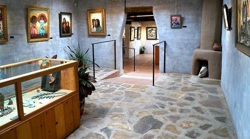 Gallery in the Sun's retrospective room.