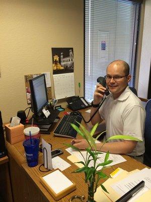 Branch Manager Robert Durnal