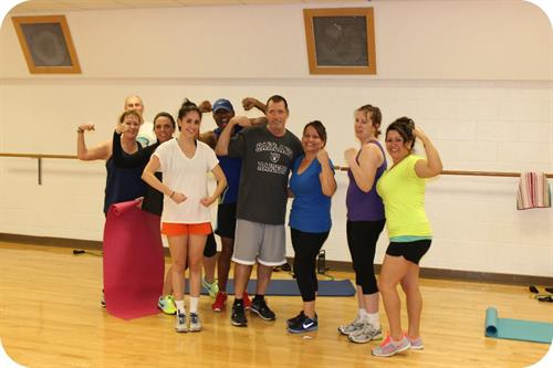 The Y offers group exercise classes for all interests an levels!