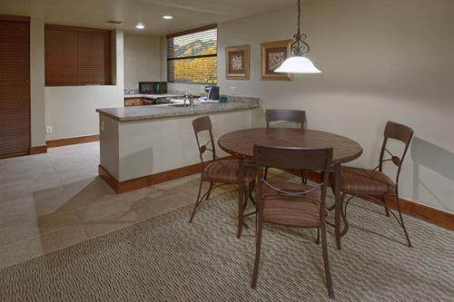 Dining Rooms in all Suites
