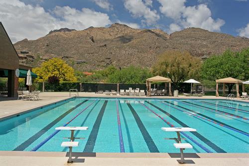 25-Meter Heated Lap Pool