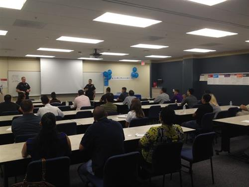 Tucson Police Department presenting at the University of Phoenix Criminal Justice Symposium